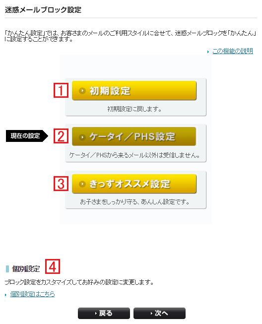 Softbank・iPhoneの迷惑メールブロック方法4種類