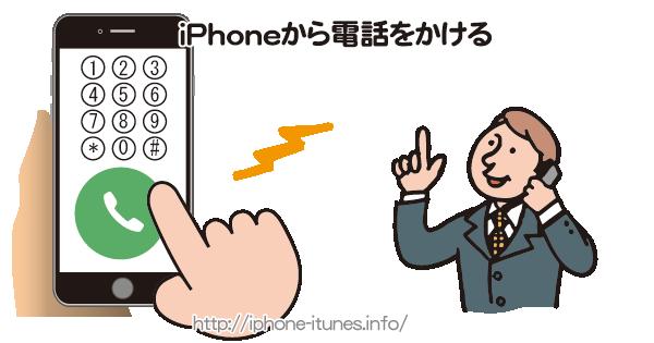 iPhoneから電話をかける