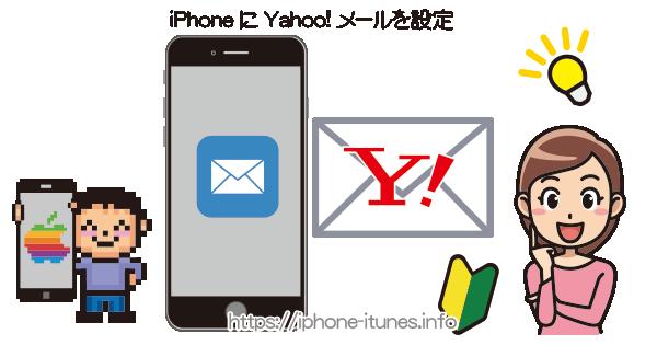 YahooメールをiPhoneに設定する