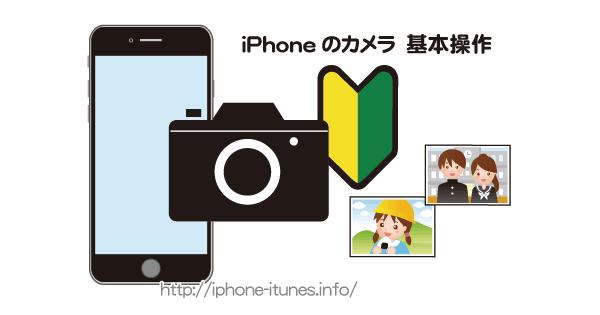 iPhoneのカメラAppの基本的な使い方