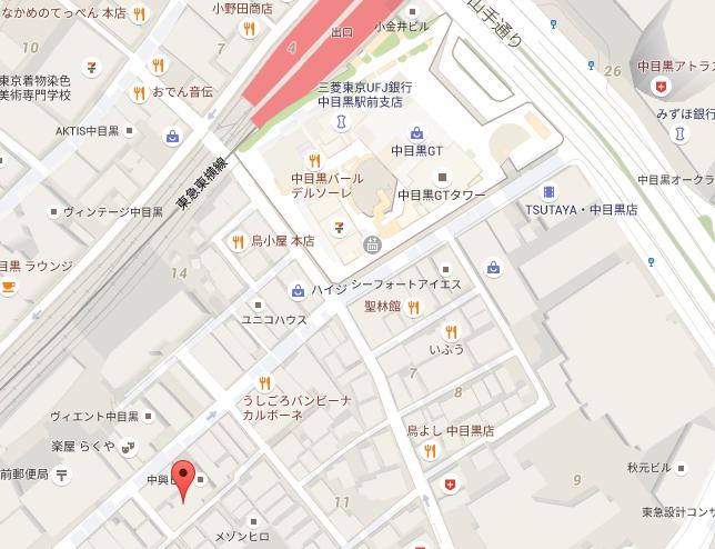 送られてきたマップAppの地図の場所を表示する事ができます