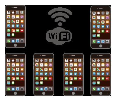iPhoneがWi-Fiに「つながらない|台数制限は?