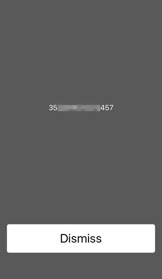iPhoneの製造番号を調べる方法