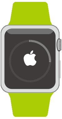ダウンロード中はApple Watchでも進行状況が確認可能