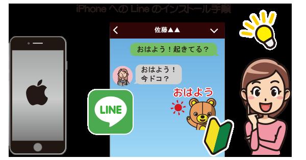 iPhoneLineをインストール|iPhoneの使い方