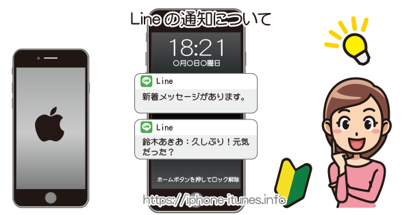 Lineの通知設定|iPhoneの使い方