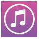 iPhone iTunes store アイコン